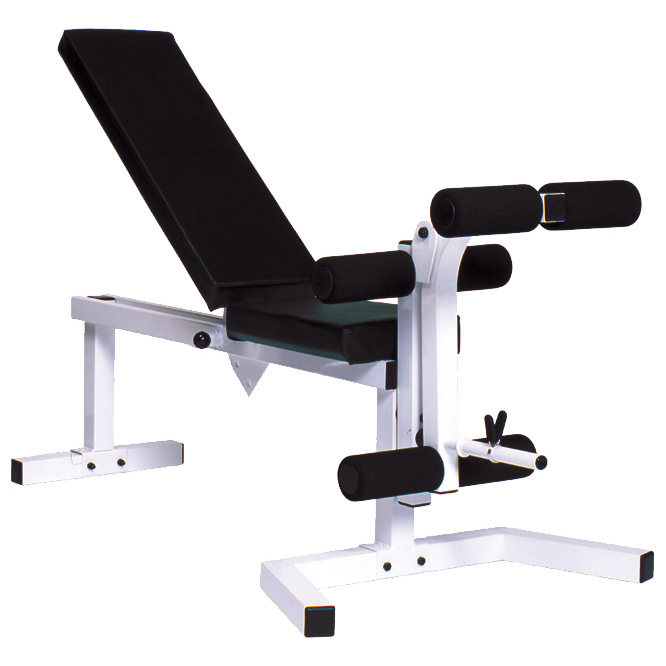 Pro Series 210 With 205 FI Bench plus 202 Leg Curl Attachment - York
