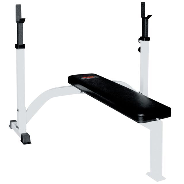 FTS Olympic Fixed Flat Bench w/ Uprights - York