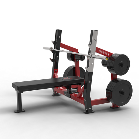 BFS - D1 OLYMPIC BENCH W/ WEIGHT STORAGE