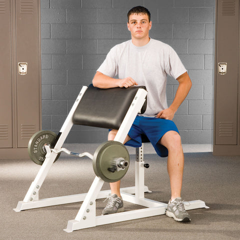 Plate Loaded - Arm Curl Bench