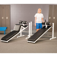 Plate Loaded - Double Ladder for Sit Up board