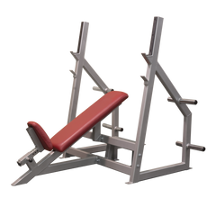 Elite Olympic Incline Bench with optional Plate Holders