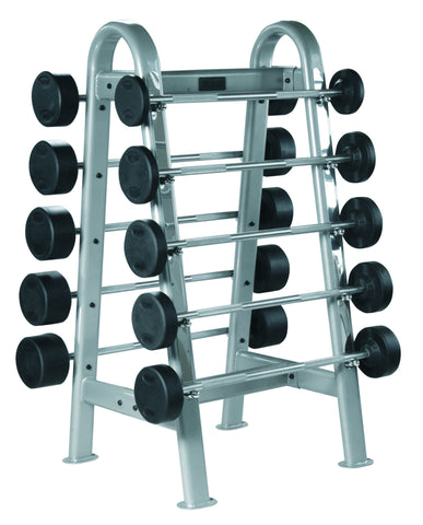 Fixed Curl and Straight Barbells Storage - Pro Style - York