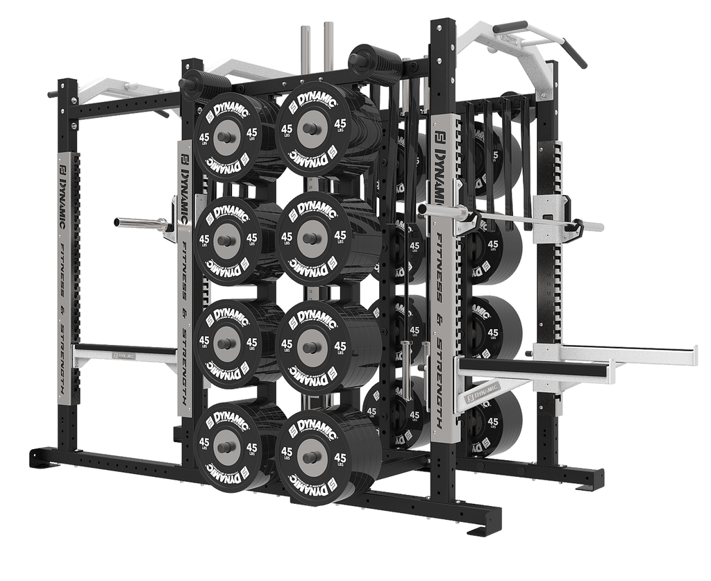 Ultra Pro 8' Power Rack/Half Rack Combo