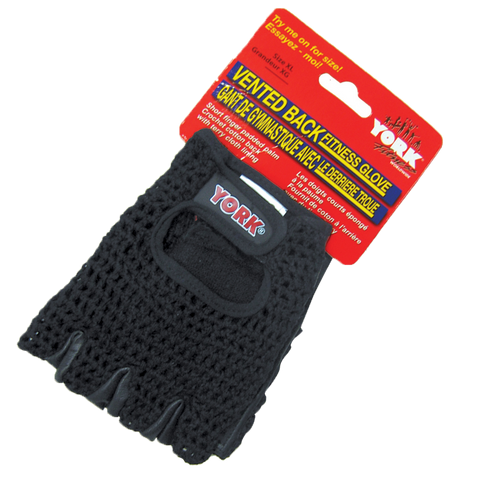 Vented Back Fitness Glove - York