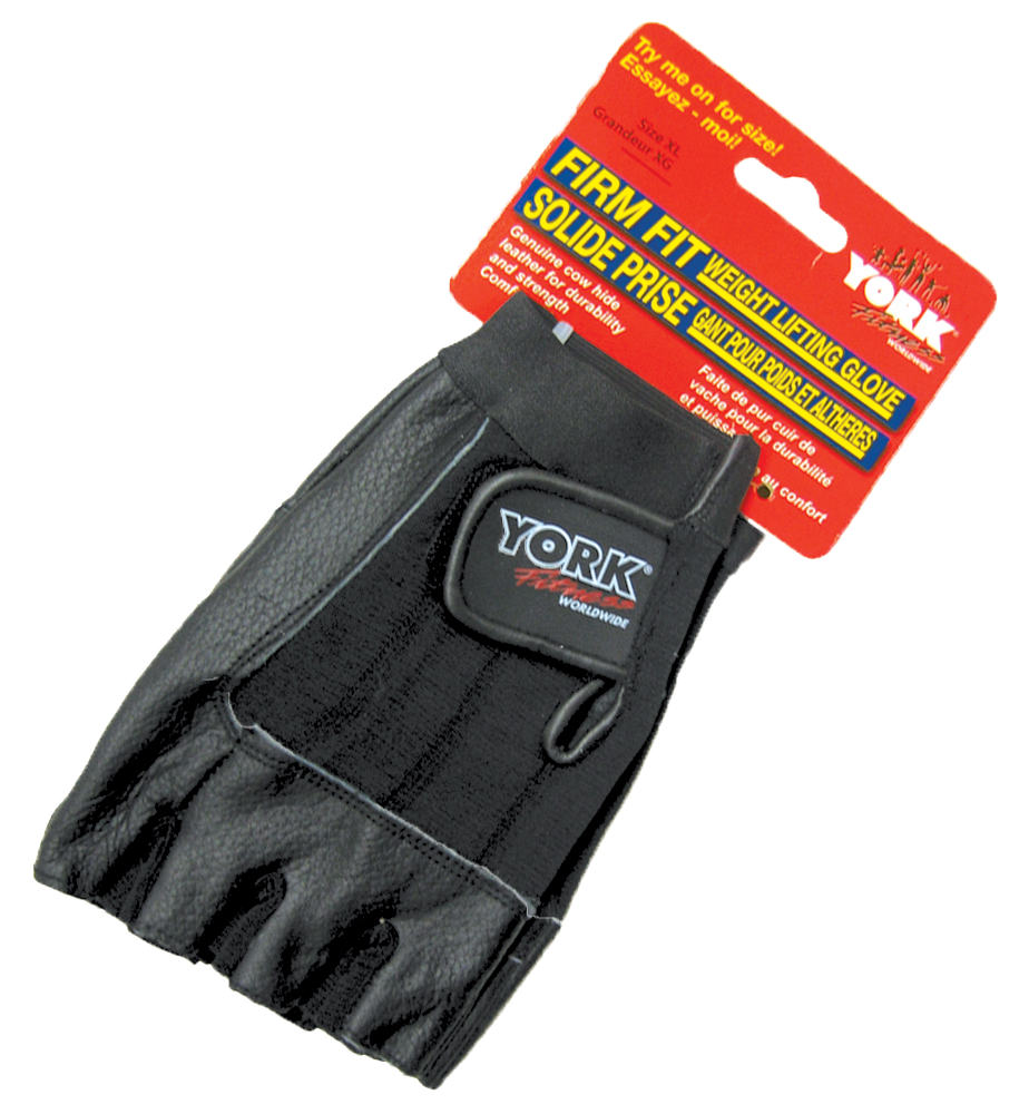 Firm Fit Weight Lifting Glove - York