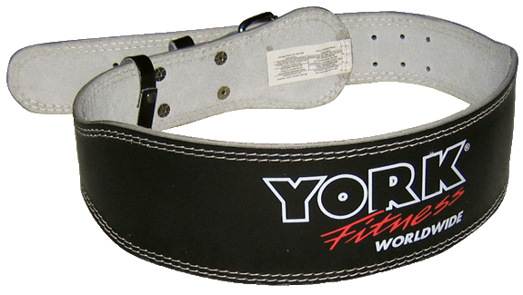 Padded Weight Lifting Belt - York