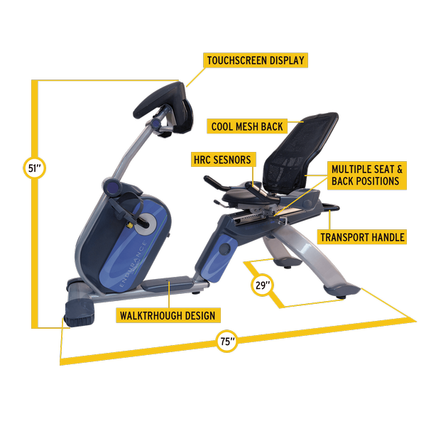 Body-Solid - B5 Recumbent Bike