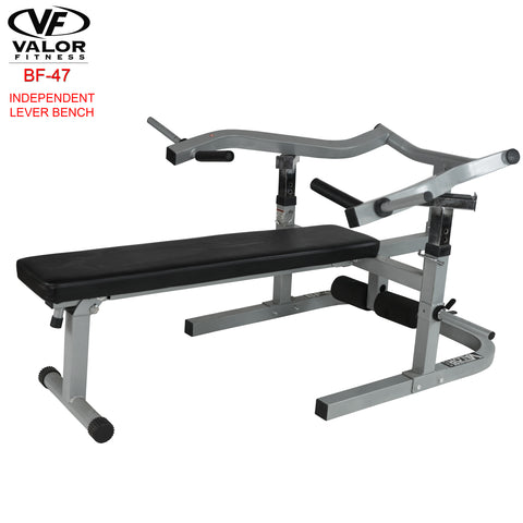 Lever Bench w/decline/sit up position