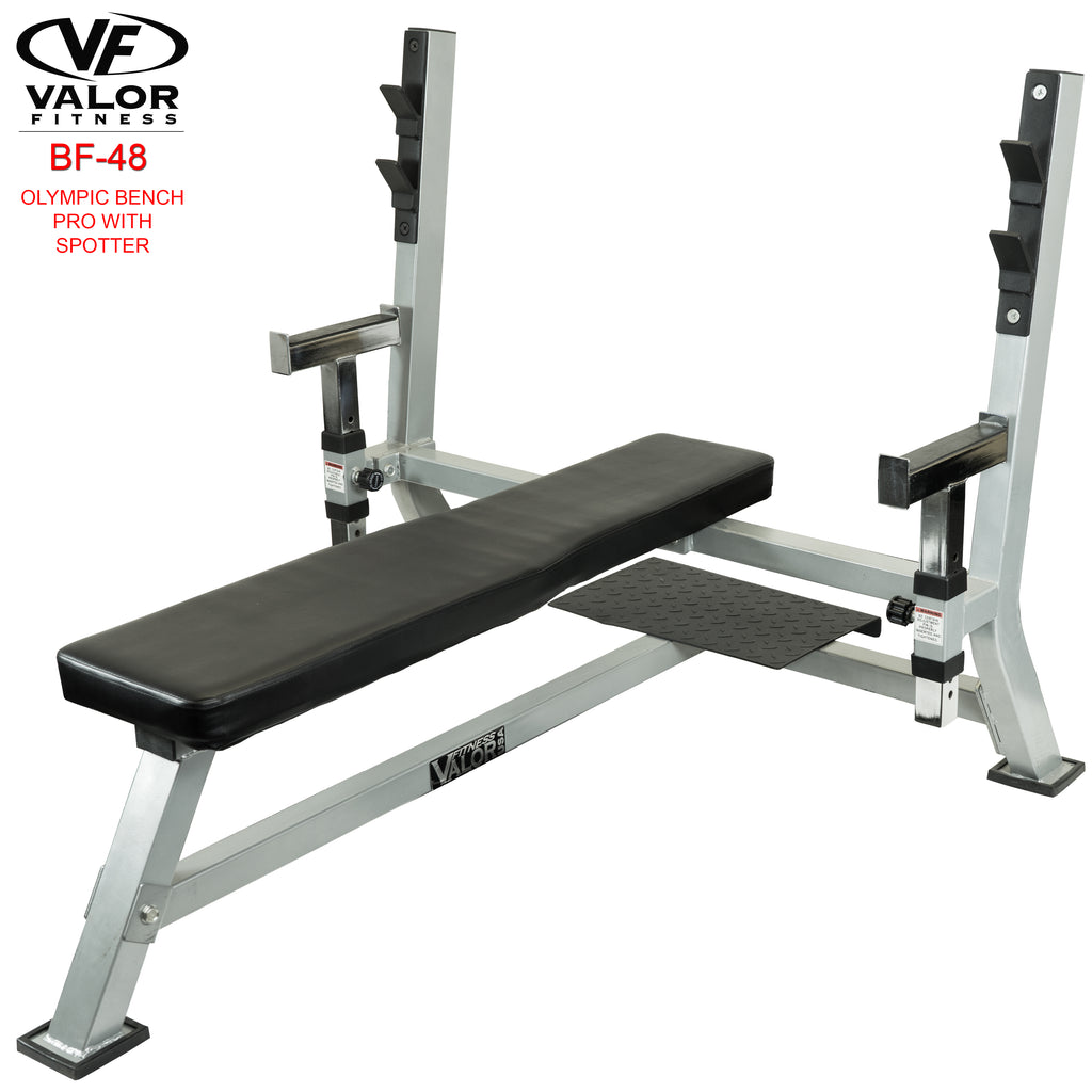 Olympic Bench Pro with spotter