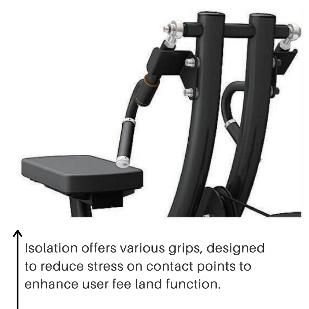 BodyKore Isolation Series – Selectorized Lat Pulldown/Seated Row