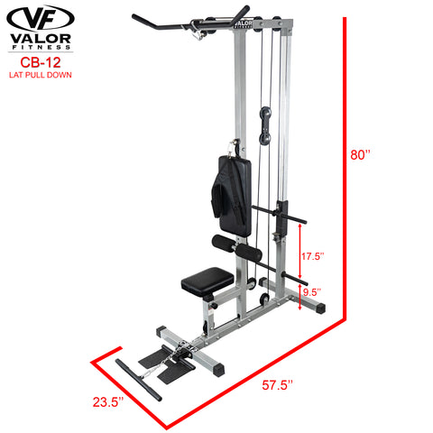 Lat Pull Down/PLG/Low Row