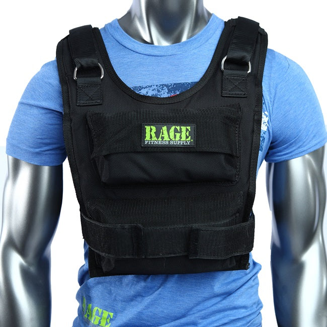 Rage Weighted Vest - 36lbs
