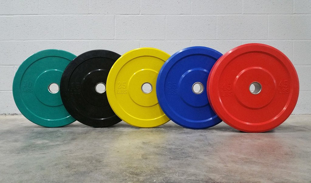 DYNAMIC - BUMPER PLATES - COLORED 17.7""