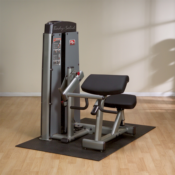Body-Solid - Dual Bi/Tricep Machine, FREESTANDING, W STACK