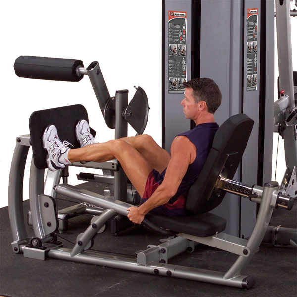 Body-Solid - Dual Leg/Calf Station, DGYM W STACK