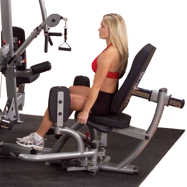 Body-Solid - DUAL INNER OUTER THIGH STATION, DGYM 210LB STACK
