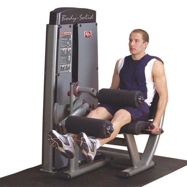 Body-Solid - DUAL LEG EXTENSION-MACHINE, FREESTANDING 210LB STACK