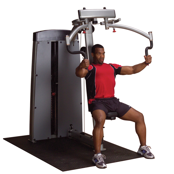 Body-Solid - DUAL PEC/FLY-MACHINE, FREESTANDING 210LB STACK