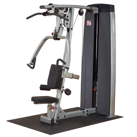 Body-Solid - DUAL PRESS/LAT STATION-MACHINE, FREESTANDING 210LB STACK