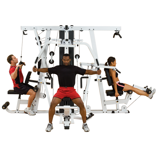 Body-Solid - 3-4 stack full commercial gym, EXM4000S