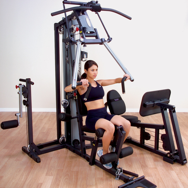 Body-Solid - 2 STACK BI-ANGULAR HOME GYM
