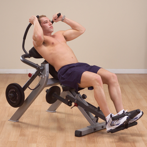 Body-Solid - Ab Crunch Bench Seated