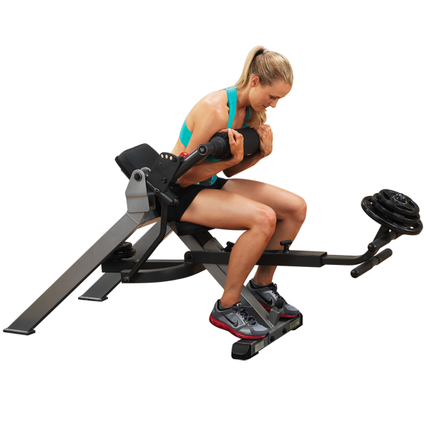 Body-Solid - Synchronized Ab Crunch Bench Seated