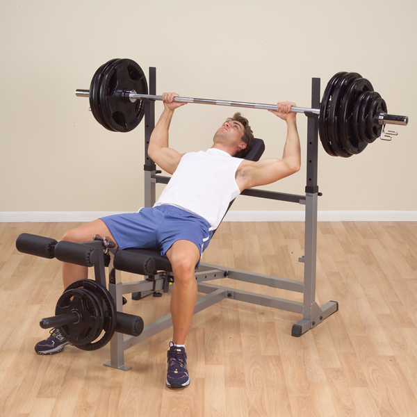 Body-Solid - Power Center Combo Bench