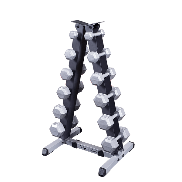 Body-Solid - 2 Tier Vertical Dumbell Rack