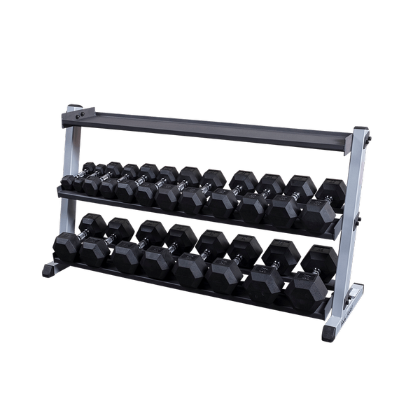 Body-Solid - GDR60 KETTLEBELL SHELF
