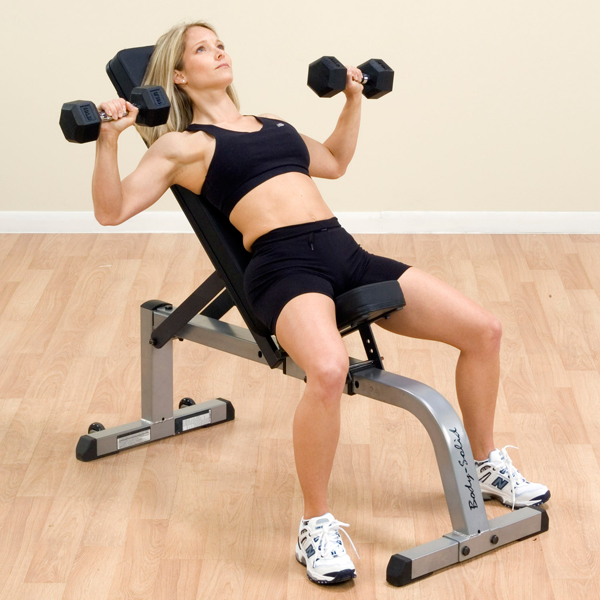 Body-Solid - 2x3 Flat to Incline Bench