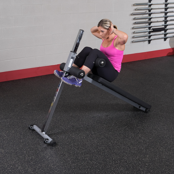 Body-Solid - Adjustable Ab Bench