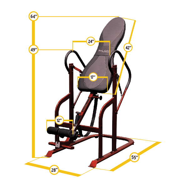 Body-Solid - BODY SOLID INVERSION TABLE
