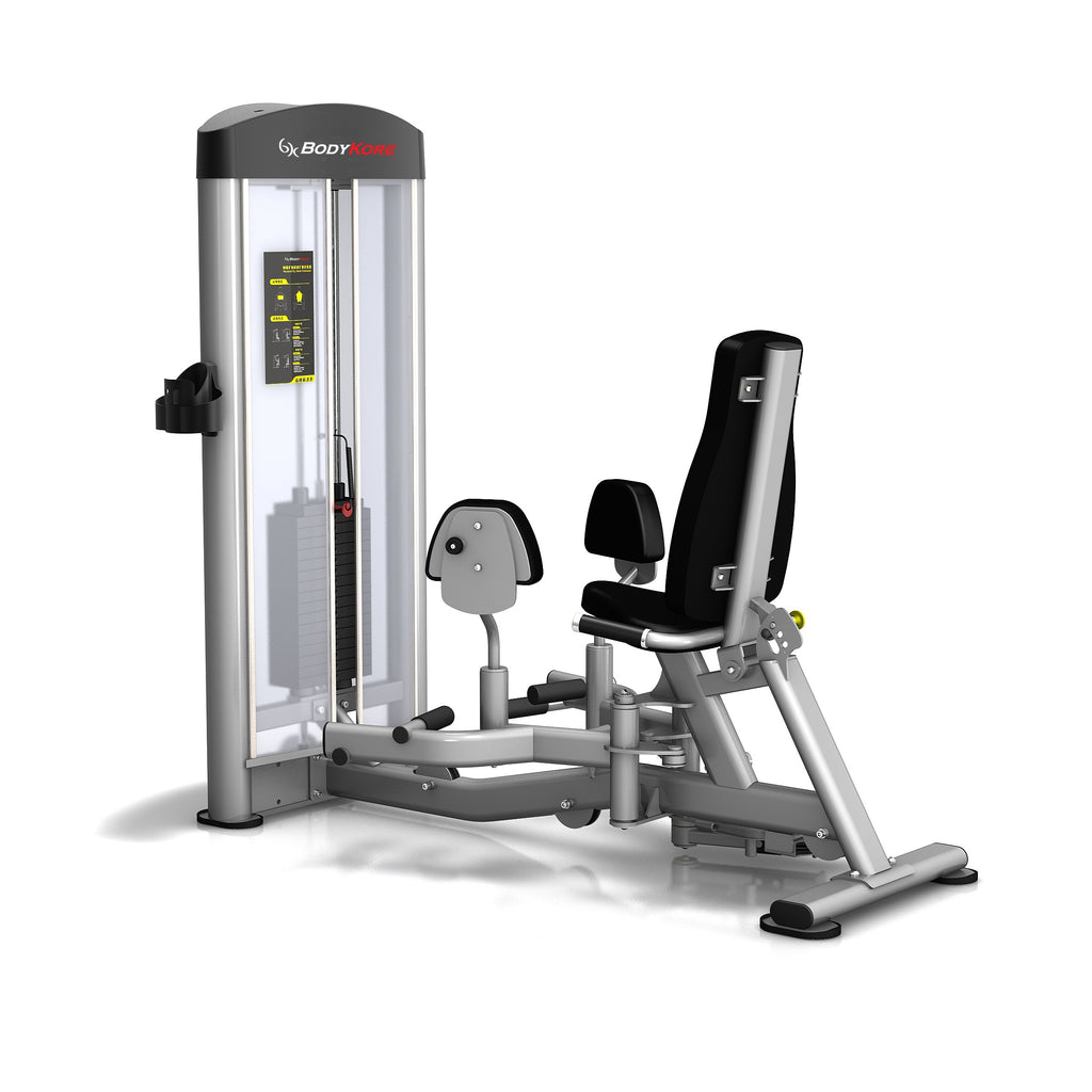 BodyKore Isolation Series Hip Abductor/Adductor Model- Commercial Selectorized Strength