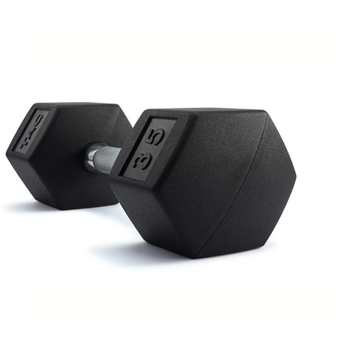 ENCASED DUMBBELLS W/STRAIGHT HANDLES - all priced as pairs