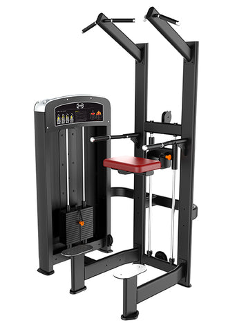 Assisted Chin Dip Machine – Elite Series | Muscle D Fitness