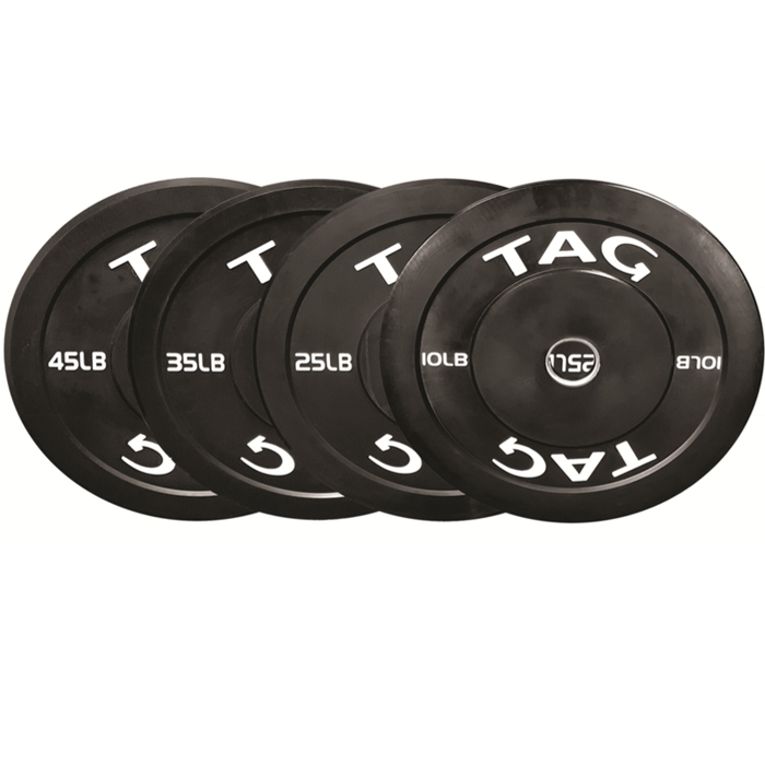 TAG OLYMPIC BUMPER PLATES