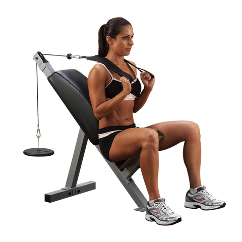 Body-Solid - Powerline Ab Crunch, Tricep Bench