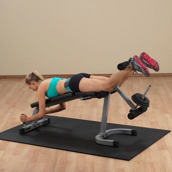 Body-Solid - POWERLINE LEG CURL LEG EXTENSION MACHINE