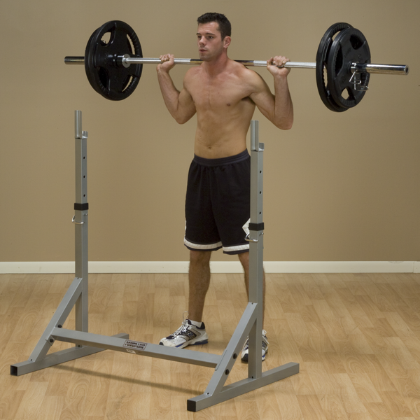 Body-Solid - POWERLINE SQUAT RACK