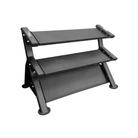 TAG 3 Tier Horizontal Dumbbell Rack - Trays