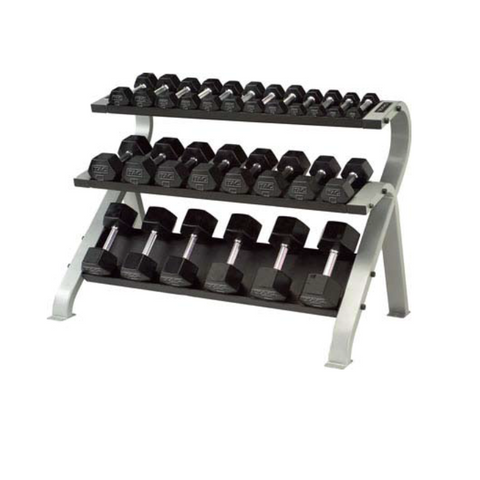 TAG 3 Tier Horizontal Dumbbell Rack
