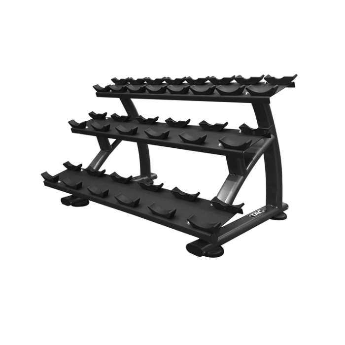 TAG 3 Tier Dumbbell Rack with Saddles (10pair)