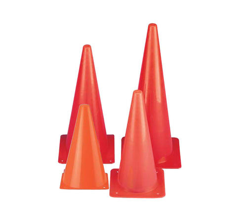 Safety Cones - High Vis Orange