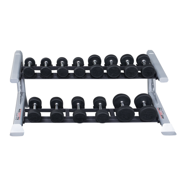 Body-Solid - PCL SDKR 2 Tier Saddle Dumbell Rack
