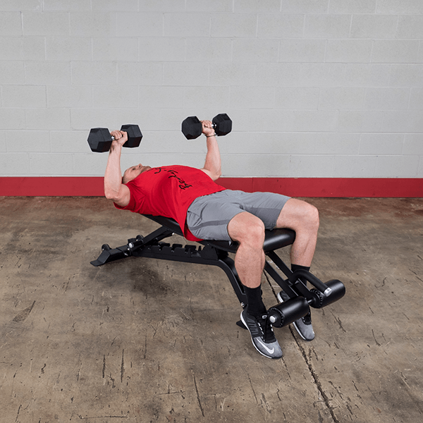 Body-Solid - ProClubline Flat, Incline and Decline Bench