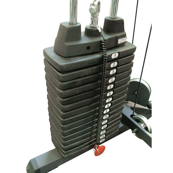 Body-Solid - 300 lb weight stack (pp15)