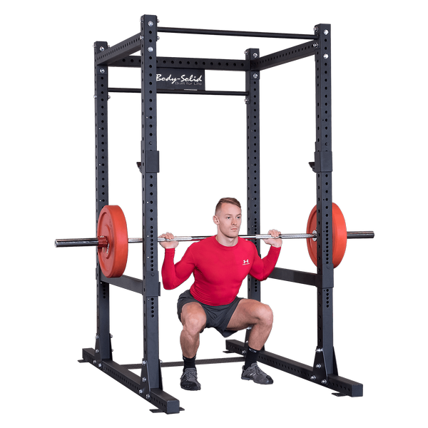 Body-Solid - PCL Power Rack Base Rack/Liftoffs/Premium Safeties