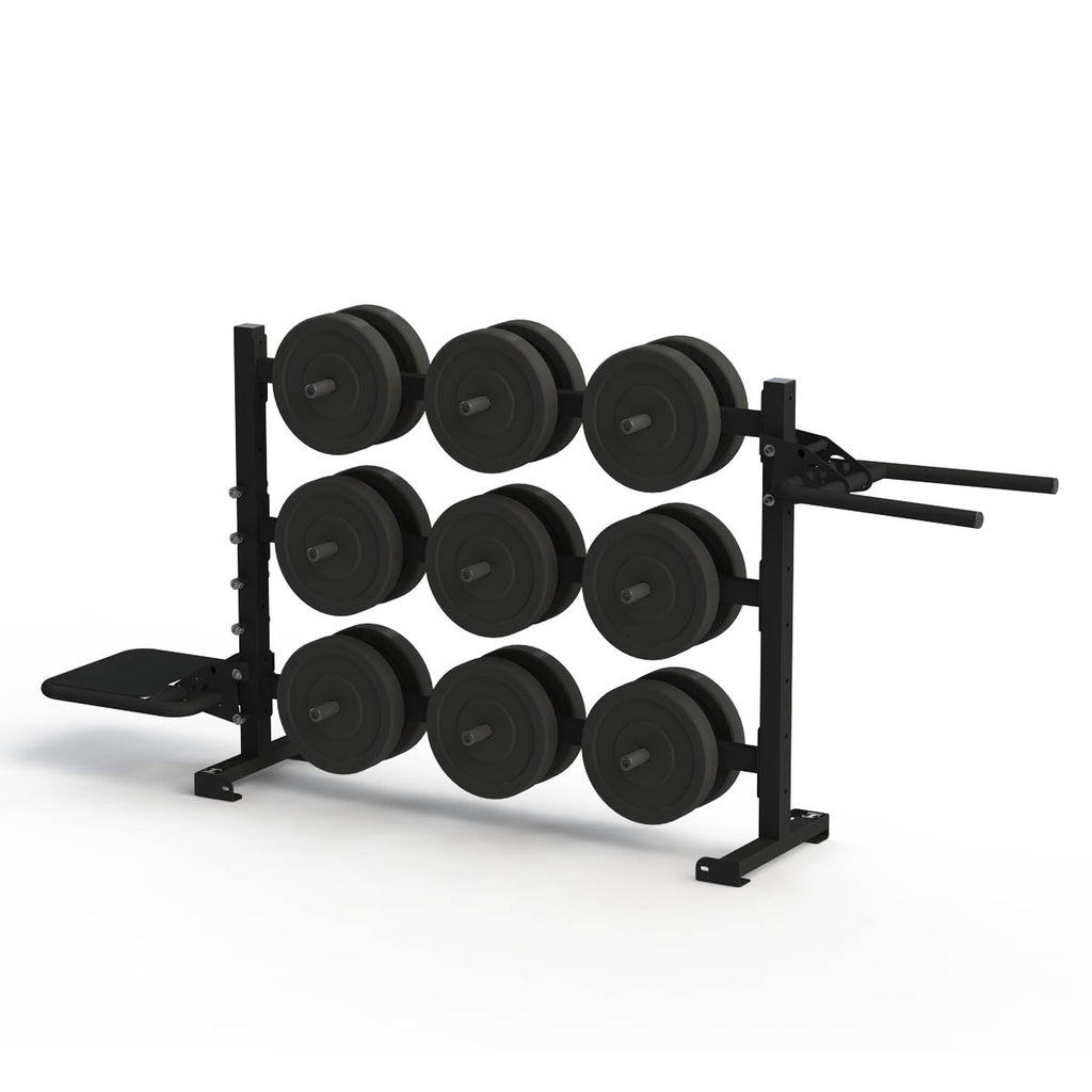 Torque X-SERIES - 6 Foot Horizontal Weight Storage/Dip/Plyo Rack